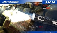 Free Shipping Original JETBEAM SSC20 Cree G2 LED 580 Lumens Flashlight Daily Torch Compatible With CR123