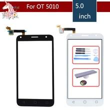 10pcs/lot For Alcatel One Touch Pixi 4 5.0 5010D 5010E 5010G 5010X OT5010 Touch Screen Panel Sensor Digitizer Glass Touchscreen стоимость