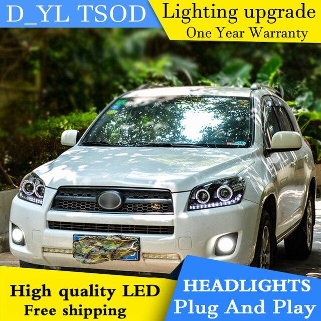 Car styling headlights for toyota rav4 2009 2013 led headlight for car styling headlights for toyota rav4 2009 2013 led headlight for rav4 head lamp led sciox Image collections