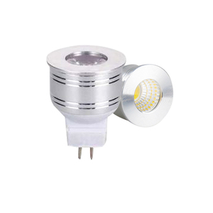 Image 2 - 1W 3W żarówka LED MR16 12V ściemniania 35mm Mini żarówka Spotlight GU5.3 GU10 E27 COB lampy 220V 110V