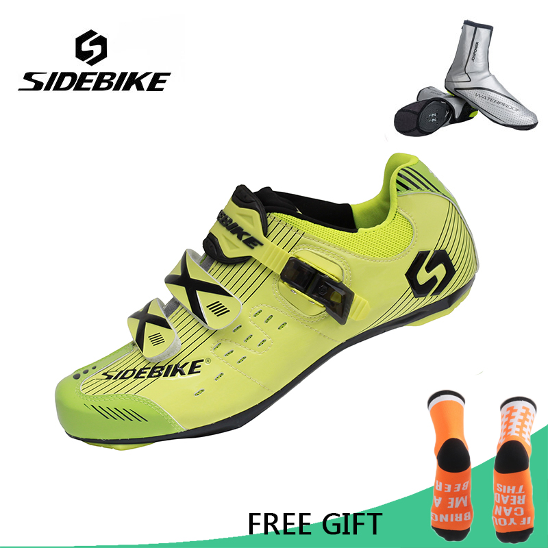 Sidebike Professional Road Cycling Shoes Men Outdoor Sport Bicycle Sneaker Self-Locking Road Bike Shoes Zapatillas CiclismoSidebike Professional Road Cycling Shoes Men Outdoor Sport Bicycle Sneaker Self-Locking Road Bike Shoes Zapatillas Ciclismo