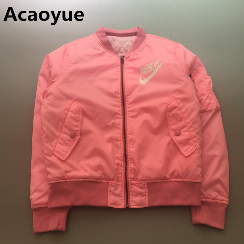 Compare Prices on Pink Flight Jacket- Online Shopping/Buy Low ...