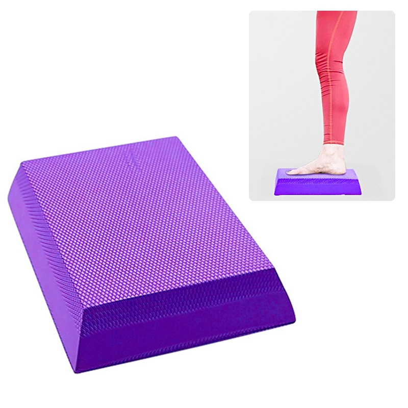 Mode TPE Yoga Matte Yoga Balance Pad Non-slip Folding Gym Fitness Matte Übung Balancing Kissen Entlasten Stress Schmerzen