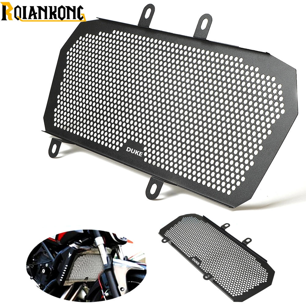 Motorcycle Radiator Guard Protector Grille Grill Cover For KTM Duke200 DUKE390 all year in Covers Ornamental Mouldings from Automobiles Motorcycles