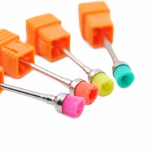 3/32'' Ceramic Nail Drill Bit Bullet Nail File Nail Art Tools Nail Cleaner Bit Electric Manicure Cutter