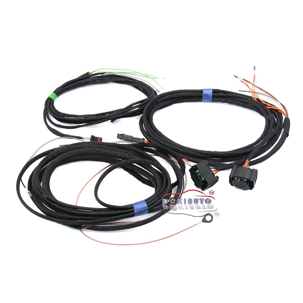 Side Assist Wire cable Harness For AUDI A4 A4 A5 B9 8W New Q5 Q7 4M