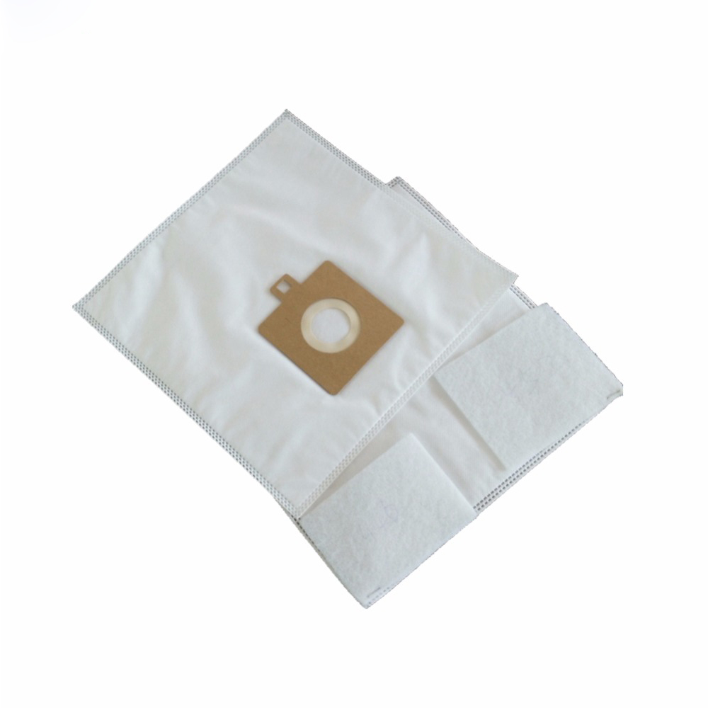 5x Vacuum Cleaner  Dust Bags Microfiber HEPA Bag With 2Pcs HEPA Filter replacement for Hoover TS2351 and Electrolux bosch pws 750 115