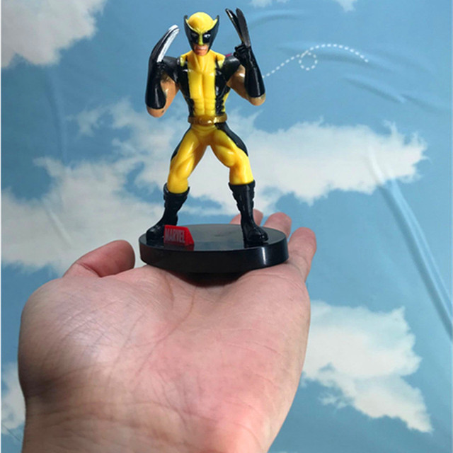 "4.1 ""X super-Herói James Howlett Mutante Wolverine Logan Howlett Avengers PVC Action Figure Collectible Modelo Toy 10 cm W001"