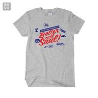 2017 nueva BETTER CALL SAÚL BREAKING BAD Saul Goodman Jimmy camiseta manga divertido programa de televisión jersey hombres mujeres