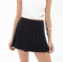 FFTAIQI new street fashion spring summer all mtach woman Pleated skirt casual Sashes loose slim show thin women sexy mini skirts
