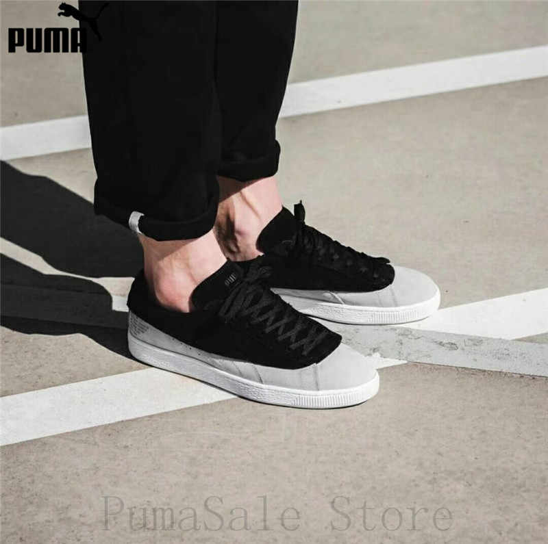 087d20bf3d1 Detail Feedback Questions about New Arrival Original PUMA SUEDE CLASSIC X  STAMPD 50 Men's Shoes 366327 01 Black/Grey Low Top Sneaker Badminton Shoes  EUR40 ...
