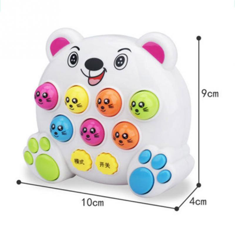 Image 3 - Baby Kids Plastic Music Toys Play Knock Hit Hamster Insect Game Playing Fruit Worm Educational instrumentos musicais-in Toy Musical Instrument from Toys & Hobbies