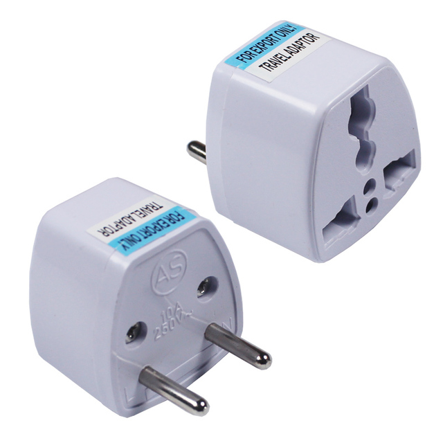 New Arrival 2019 Best Price small Universal UK US AU to EU AC Power Socket Plug Travel Charger Adapter Converter AD-02