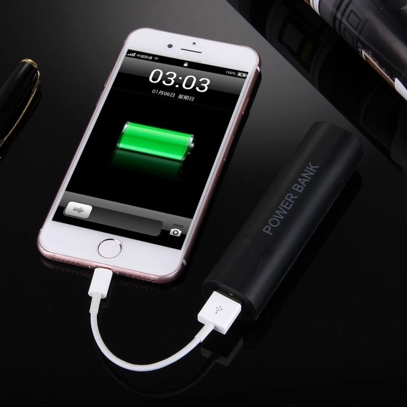 Cargador de teléfono portátil diy solo 18650 batería portátil banco de potencia