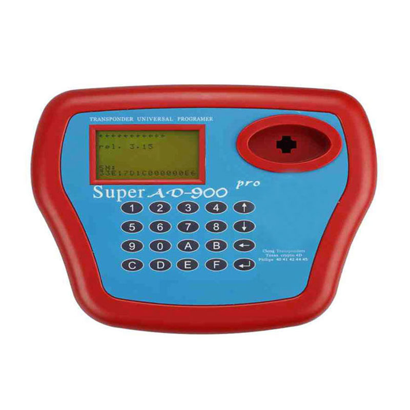 High Quality AD900 Auto Key Programmer Tool AD900 Transponder Clone Key with 4D Function  Reading 8C/8E Chip info Free Shipping