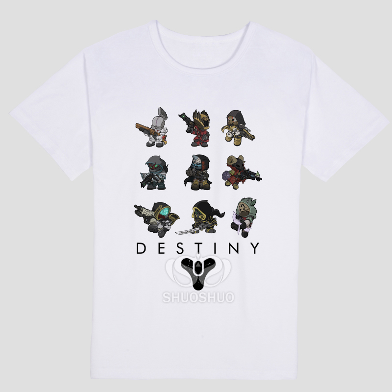 Destiny FPS PS4 XBOX GAME Print Original Design Fashion Style Casual Cotton Tshirt T shirt TEE Free Shipping