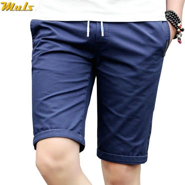 Korte Broek Heren Blauw.4 Kleur Heren Shorts Mannen Toevallige Zomer Shorts Demin Blauw Kaki