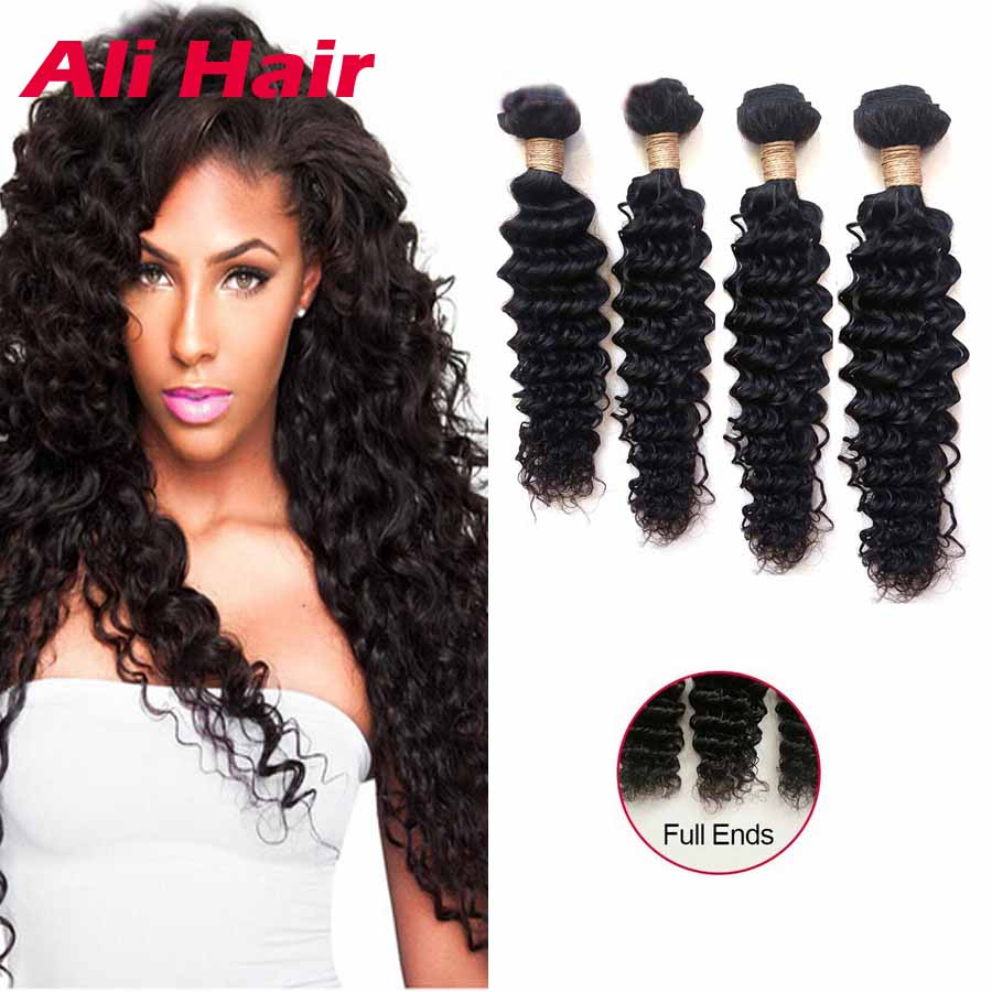 16 18 20 Inch Cheap 4 Real Indian Curly Bundles Sew Human Hair Weave