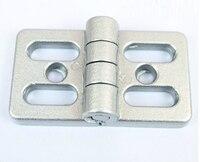 Aluminum Profile Accessories Hinges For 4545 Aluminum Profile