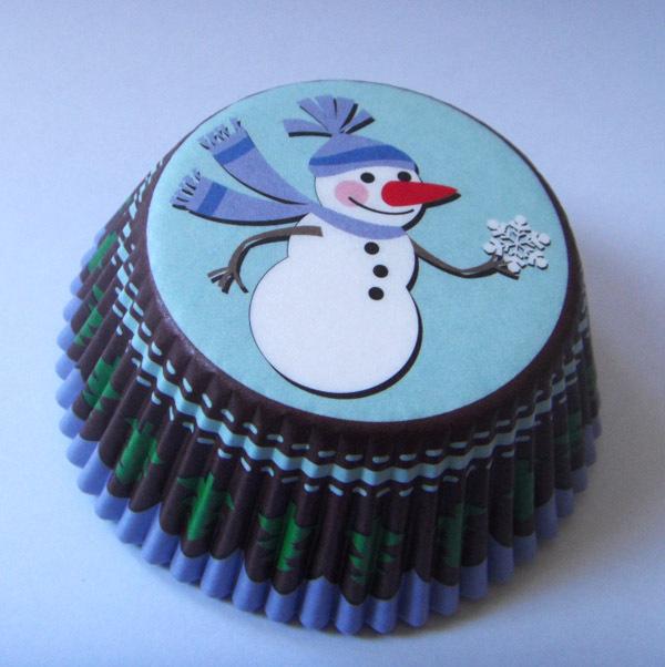 Christmas Cupcake Cases (50)