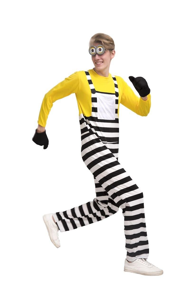 2017 New Movie Costume Minions Jumpsuit
