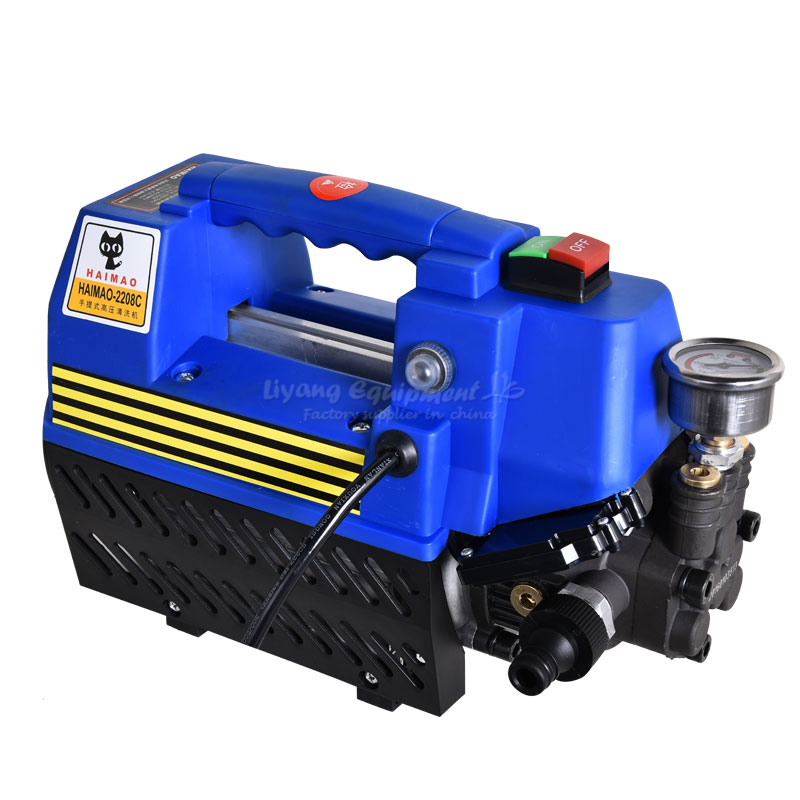 No tax to Russsia full automatic portable HAIMAO high pressure car washer 220v, household car washing machine 480l h portable wash device car washing machine cleaning pump household high pressure car wash pump