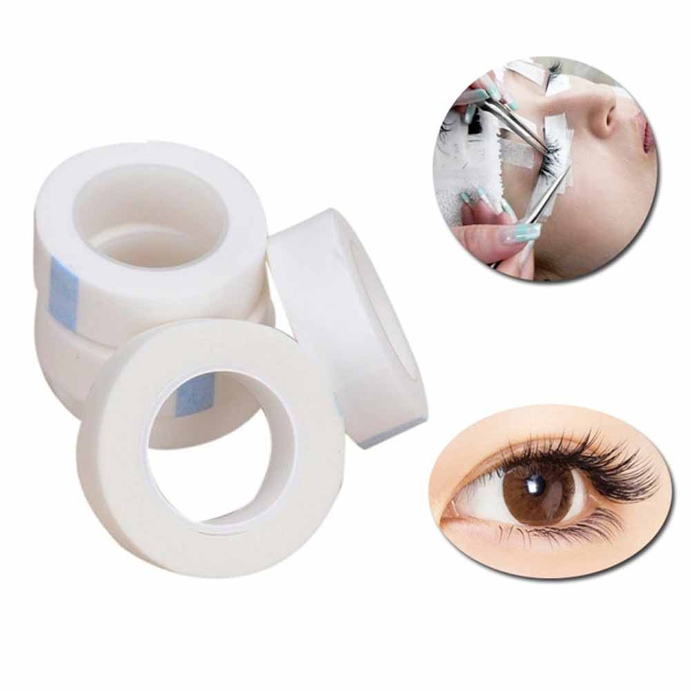 New 5 Rolls Professional Eyelash Lash Extension Micropore Paper Medical Tape
