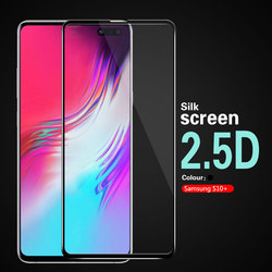 На Алиэкспресс купить стекло для смартфона 2.5d arc full cover tempered glass film for samsung galaxy s10+ s10 plus s10plus sd855 exynos g975n s10e s10 black frame guard