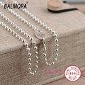 100% real pure 925 prata esterlina jóias colares para as mulheres 925 correntes de prata de presente de natal de alta qualidade collares JLW60124