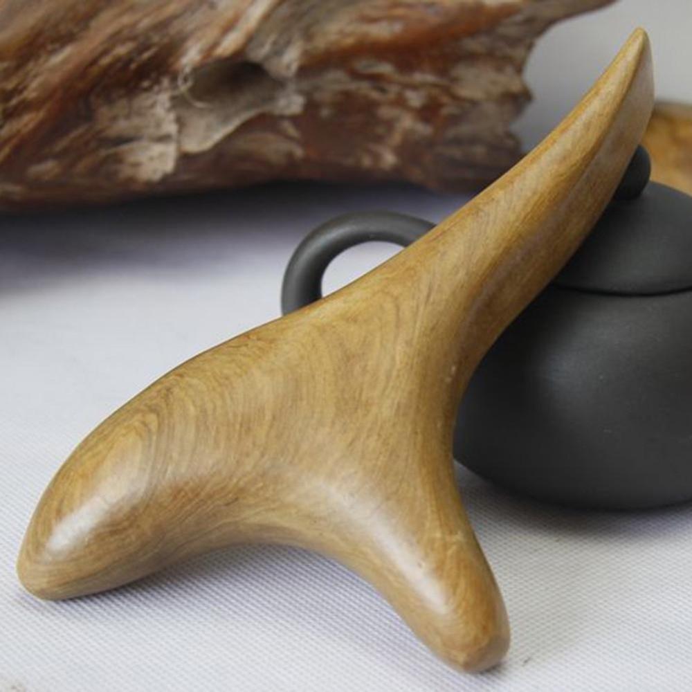 Купить с кэшбэком Vietnam fragrant wood body massager Moisture Absorber Anti Cellulite Scraping tool Pain relieve leg slim back massagers