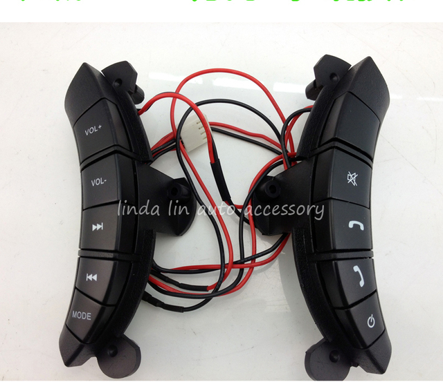 Free shipping Steering wheel audio control button fit for Great wall Hover H3 / H5