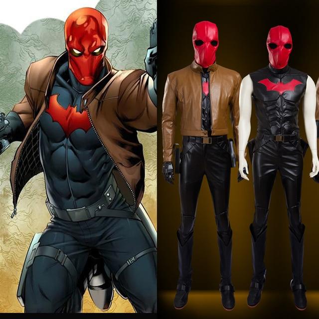 Hero Catcher High Quality Movie Batman Jason Todd Cosplay Costume Jason  Peter Todd Costume Jacket Todd