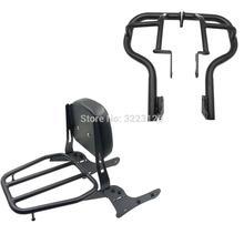 Hinten Gepäck Rack Passagier Rückenlehne & Crash Bar Motor Schutz Schutz Rahmen Stoßstange Für Kawasaki Vulcan VN650 S 650 S650 15-18(China)