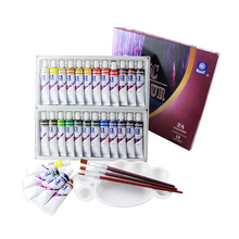 Набор для рисования акриловых красок с эффектом памяти, текстильная ткань, маникюрный дизайн ногтей с 3 кистями и 1 палитрой