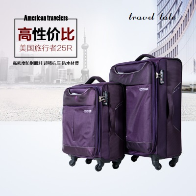 travel tale 20/24/28 Inch oxford high quality durable waterproof Rolling Luggage Spinner brand Travel Suitcase