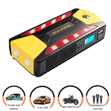 portable car jump starter multi function power bank mobile phone laptop battery charger auto booster 12V