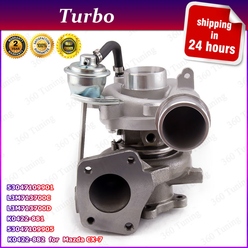 k0422 882 k0422 881 turbo turbocharger for mazda mazdaspeed 3 6 cx 7 cx7 2 3 l mzr disi. Black Bedroom Furniture Sets. Home Design Ideas