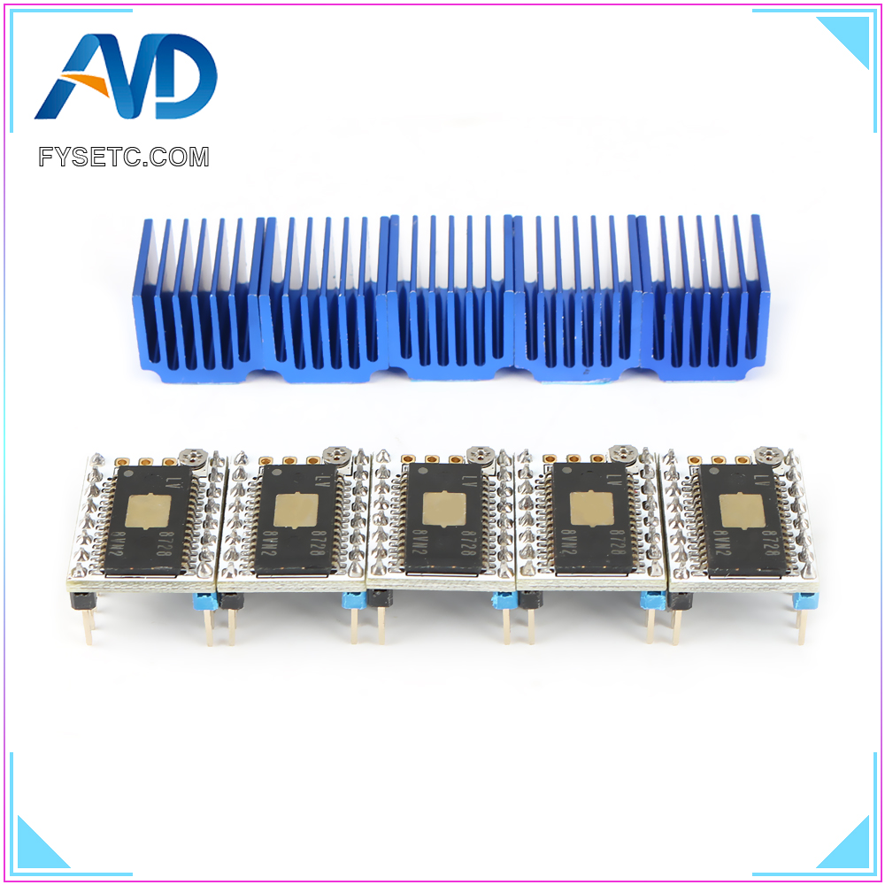 5PCS LV8728 Stepstick Stepper Motor Driver AS S6128 Driver Up To 2.2A Peak Drive Current Replace SD8825 A4988 A4983 LV8729