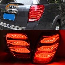 OKEEN 2 шт. автомобиля Стайлинг задние фонари в сборе для Chevrolet Captiva 2006 светодио дный 2016 светодиодный задний свет DRL + тормоз + Парк + указатель поворота Стоп-сигнал
