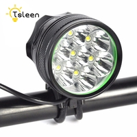 TSLEEN Waterproof Rechargeable Bicycle Light 7XCree XM L T6 18650 Led Rear Front Bike Light Safety