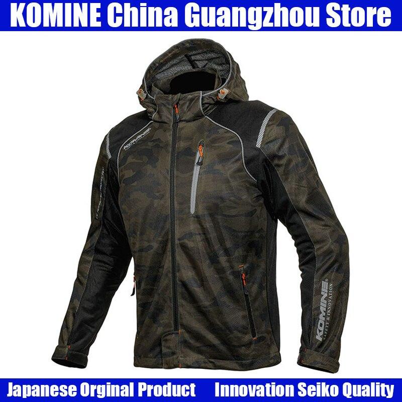 KOMINE japonais Original hommes Moto veste Motocross veste respirante Anti-chute Moto veste équipement de protection armure veste
