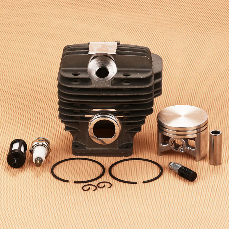 New Cylinder Piston Kit Spark Plug Filter Fit Calm Stihl 044 MS440 MS 440 Replace 1128-020-1201 Chainsaw цены