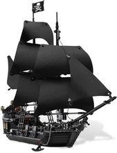 Lepin 16006 Pirates of the Caribbean The Black Pearl Model set Ship Building Blocks Kits Bricks Educational Toys For Boys Gifts