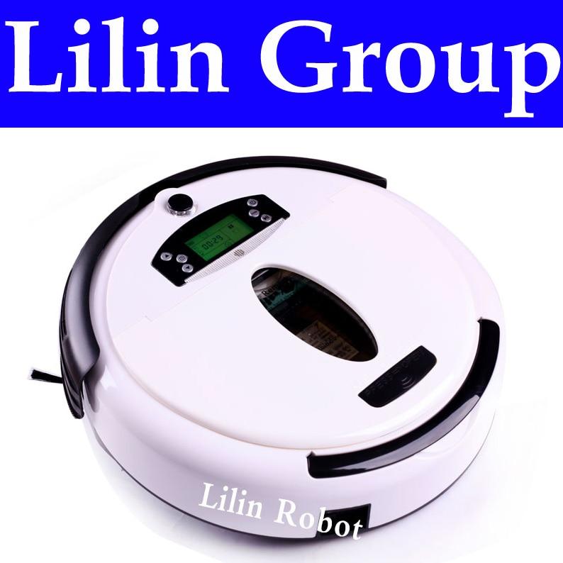 (Free to Russia) Robot Vacuum Cleaner, Multifunctional (Vacuum,Sweep,Mop,Flavor), LCD Screen,Virtual Blocker,Schedule,SelfCharge