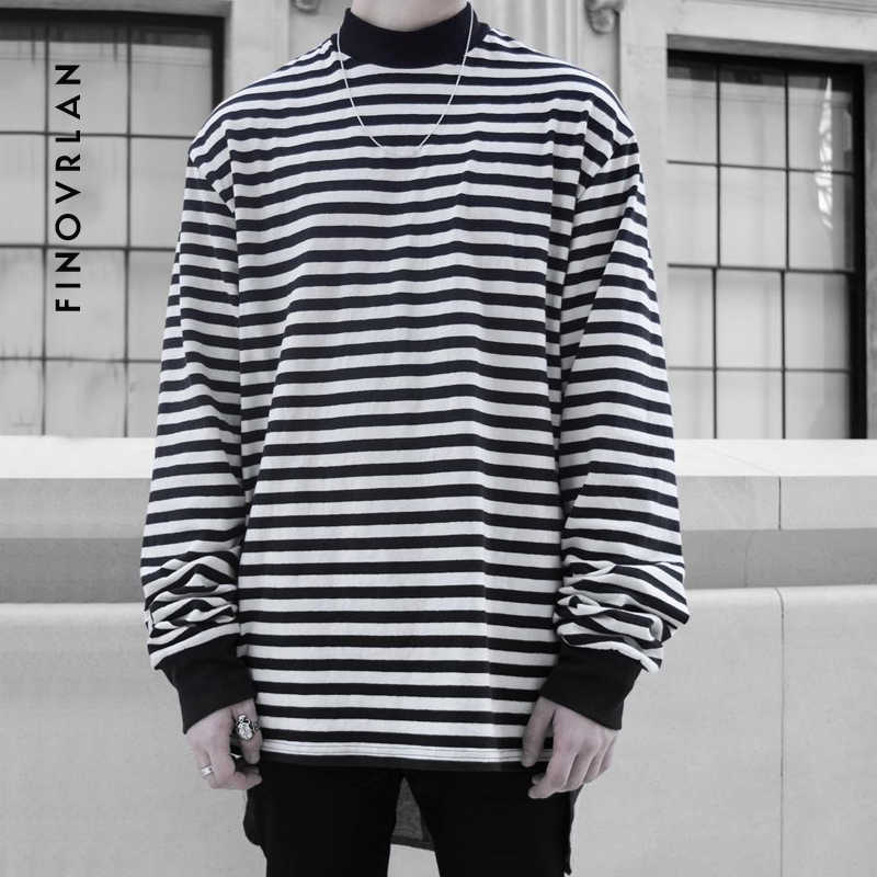 a40a7915666 Autumn And Spring Long Sleeve turtleneck T shirts Men Ulzzang Korean ...