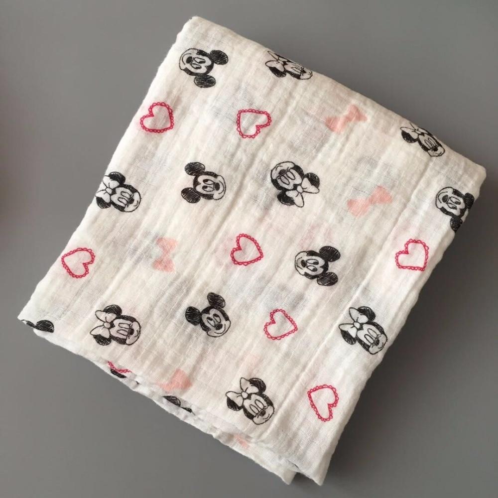 Bawełniany koc niemowlęcy Szalik w kratkę Ręcznik Noworodek - Opieka nad dzieckiem - Zdjęcie 2