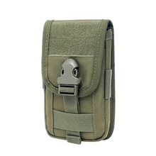 Tactical Molle Pouch Belt Bag Mini Pocket Military Waist Pack Running Travel Mountain Camping Bags Soft Case 18cm*9cm*3cm