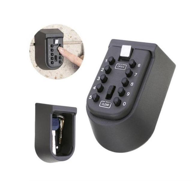 LanLan Security Password Key Lock Box Safety Home Durable Storage