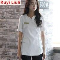 Ruyi Liuli Work wear uniform massage nursing uniform robes medical gowns robe medical lab coat scrubs medical uniforms women