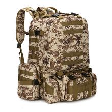 2016 mochila escolar external frame backpack large capacity new good quality camouflage hunting backpacks sport climbing - External Frame Hunting Backpack